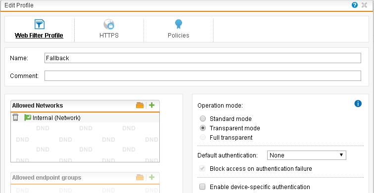 Sophos UTM – SSL Web Proxy Scanning Configuration and GPO Deployment