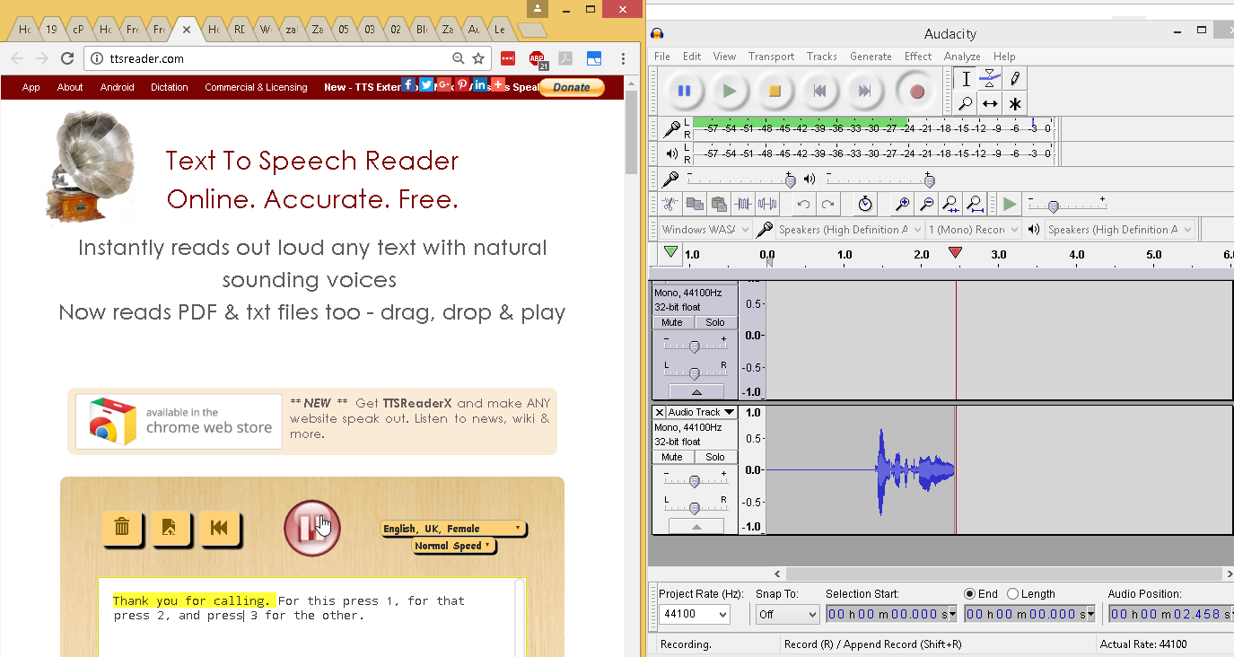 FreePBX – Setup Auto Attendant aka IVR and Record Audio